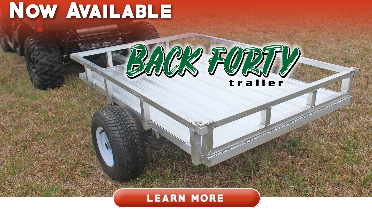 Back Forty ATV Utility Trailer