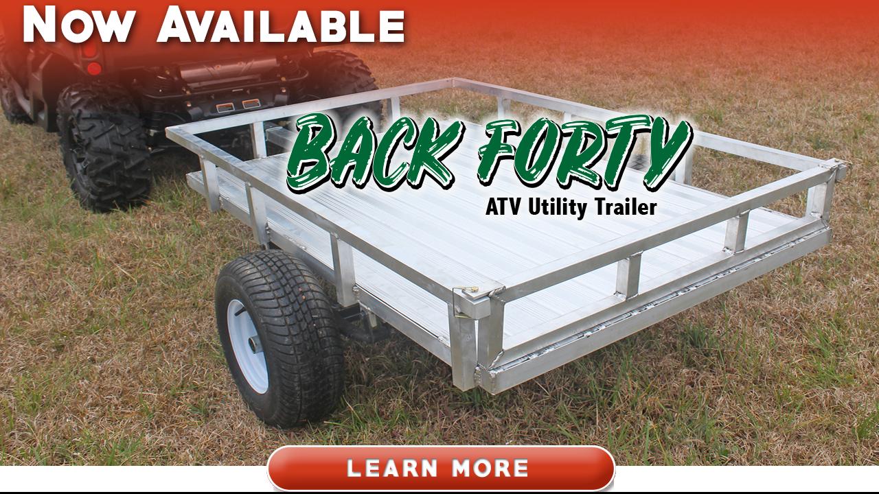 Back Forty ATV Utility Trailer