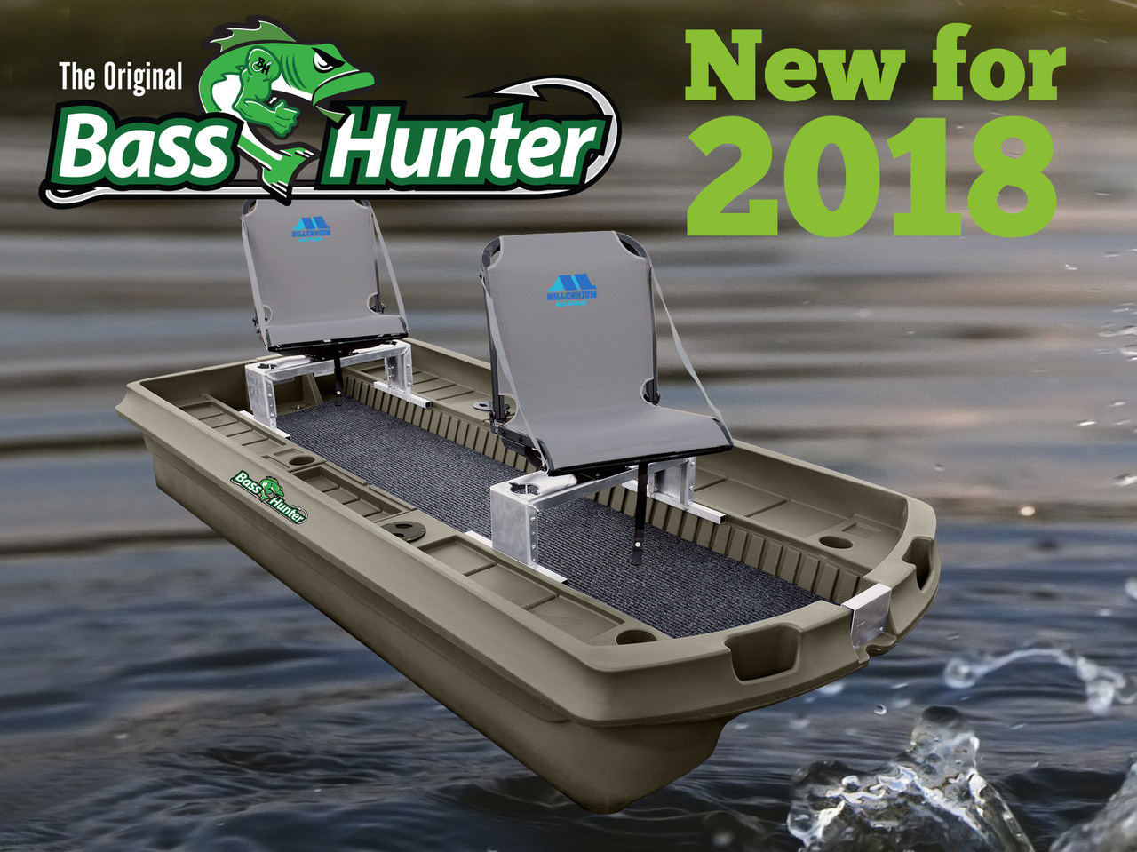 Bass Hunter Boat