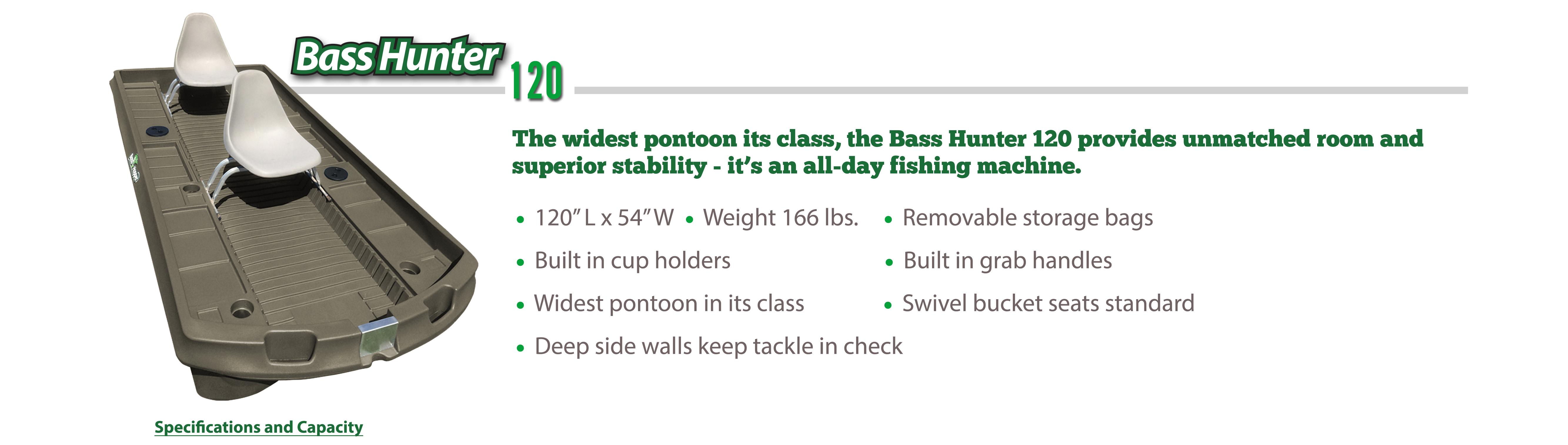 Bass Hunter 120