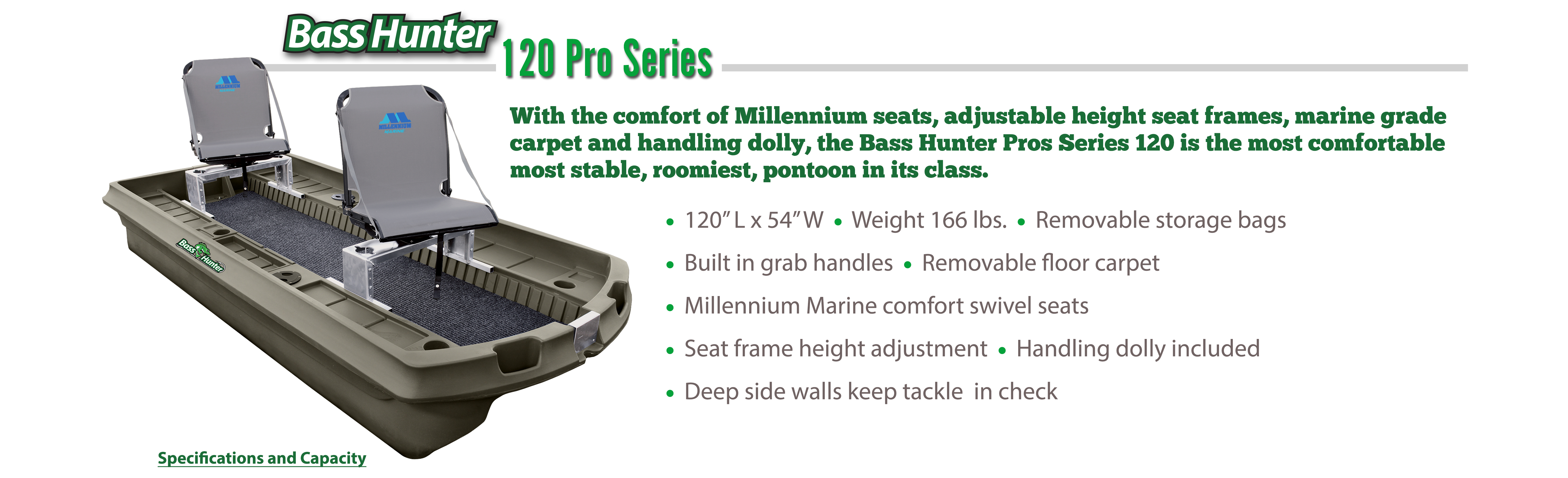 Bass Hunter 120 Pro Series