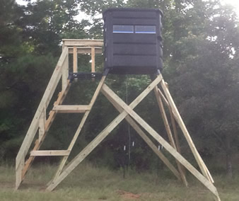 The Sportsman S Condo Deck Southern Outdoor Technologies