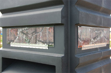 The Sportsman's Condo Camo Window Kit