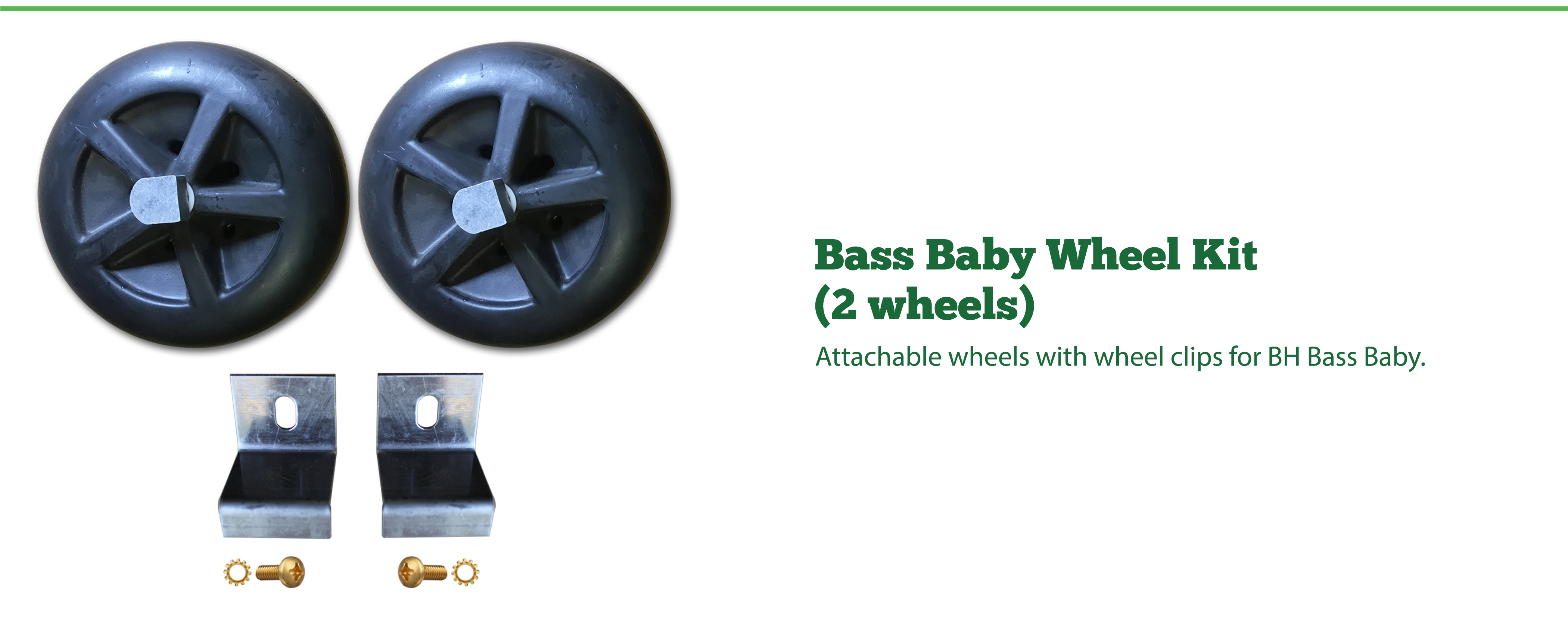 Bass Baby Wheel Kit