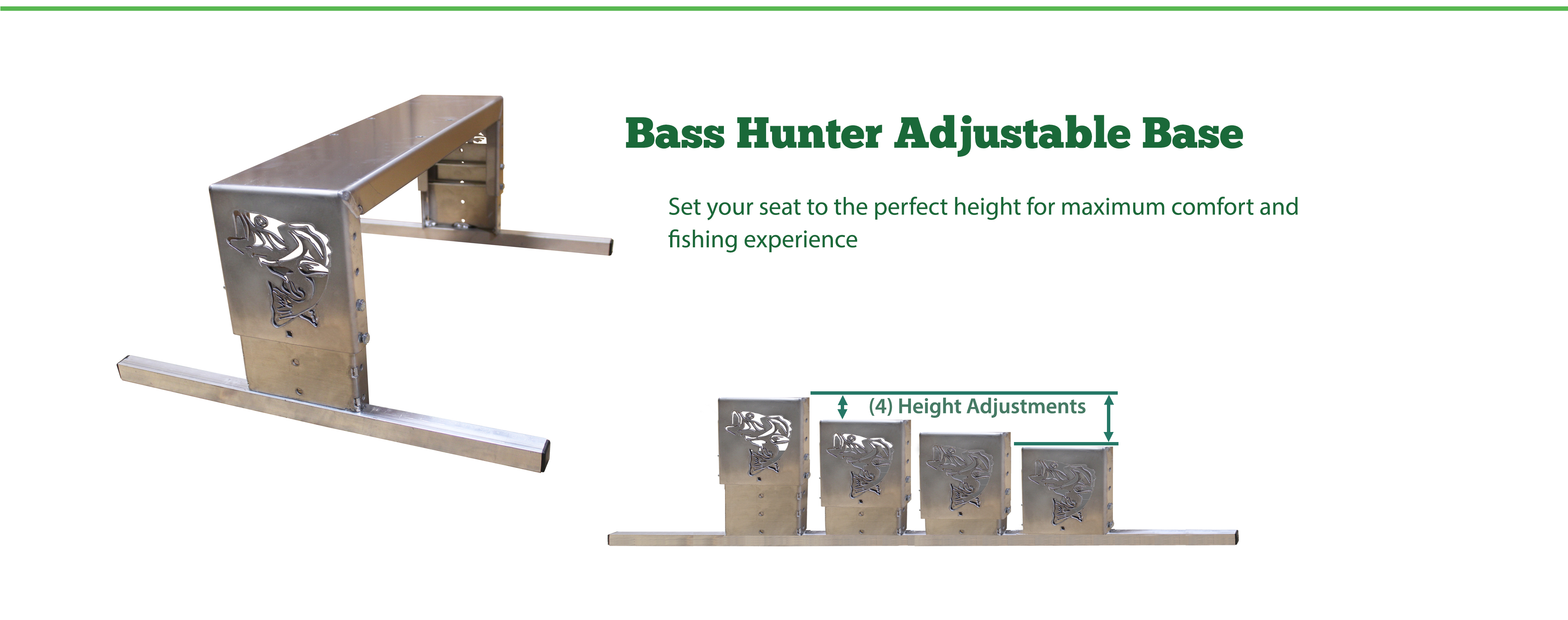 Bass Hunter Adjustable Base