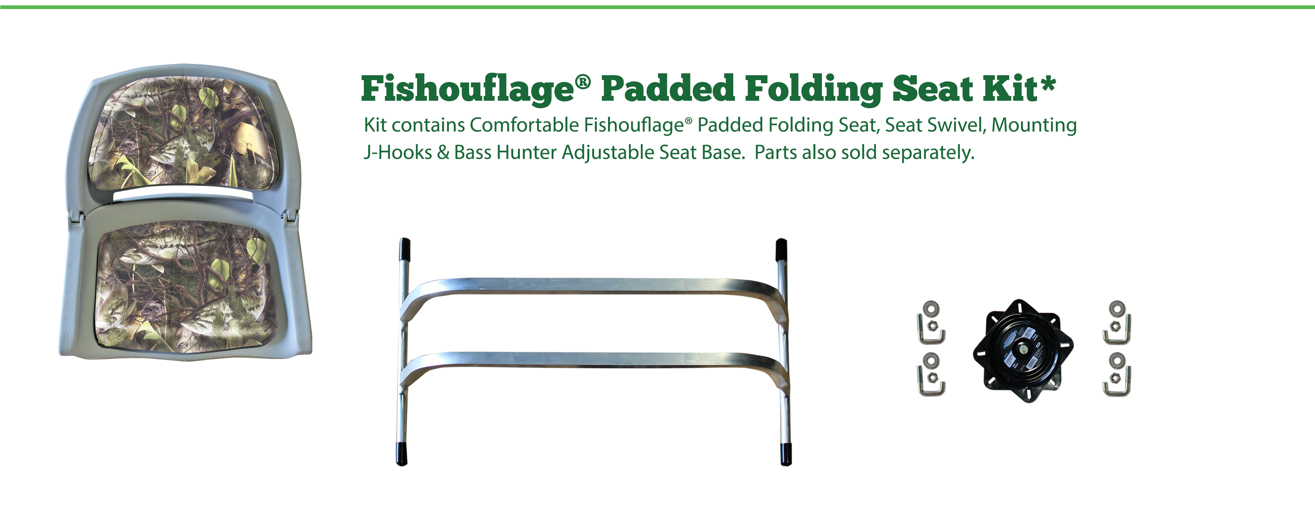 Fishouflage Padded Folding Seat