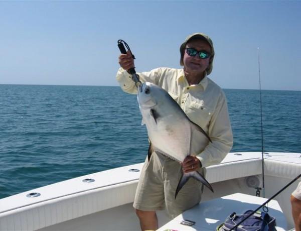 Dad fishing Boca