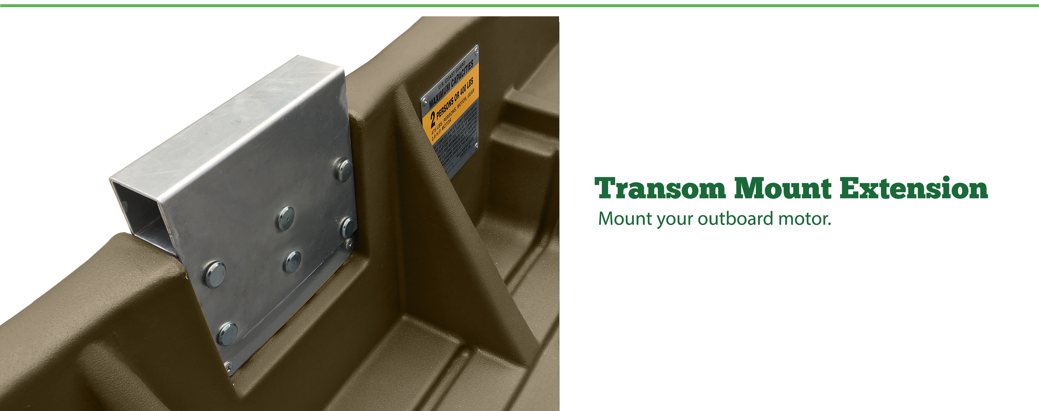 Transom Mount Extension